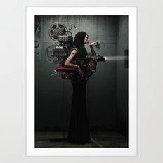 Madame Cinematic Art Print