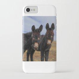 Burro Buddies iPhone Case