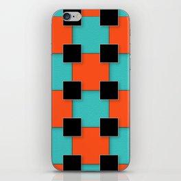 Cubist Cat iPhone Skin