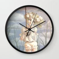 doll Wall Clocks featuring Doll by FReMO