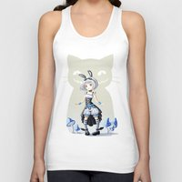alice Tank Tops featuring Alice by Freeminds