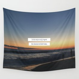 Taking Chances Wall Tapestry
