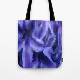 Purple Hibiscus Leaf Tapestry Print #1497 Tote Bag