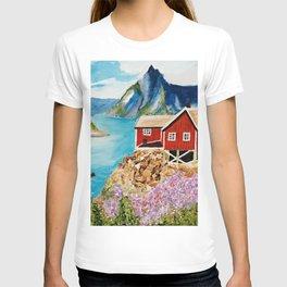 Lofoten Islands, Norway T-shirt
