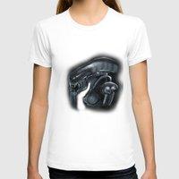 xenomorph T-shirts featuring Mama Xenomorph by Nataliette