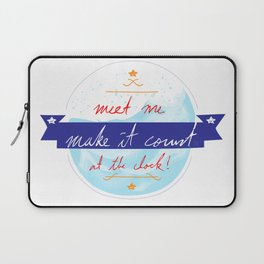 Make It Count Laptop Sleeve