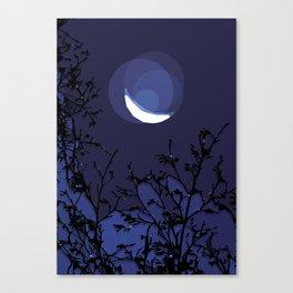 True Moonlight Canvas Print