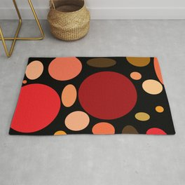 Dotted Ice Cream Rug
