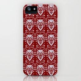 Krampus Red iPhone Case