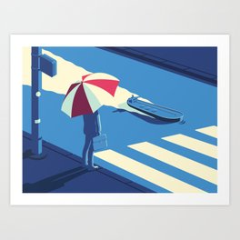 cruising... Art Print