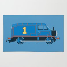 Tommy the Van Engine Rug