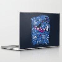 chihiro Laptop & iPad Skins featuring Chihiro in Spiritland by Hoborobo