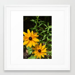 Yellow Dream Framed Art Print