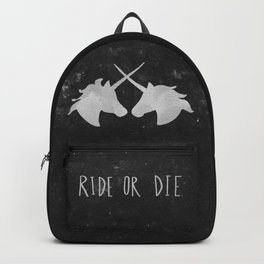 Ride or Die Unicorn Magic Backpack