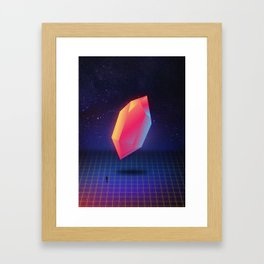 Diamond Dimensions #3 Framed Art Print
