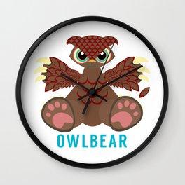 Owlbear Wall Clock