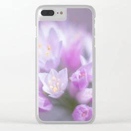 Dreamy Flower I Clear iPhone Case