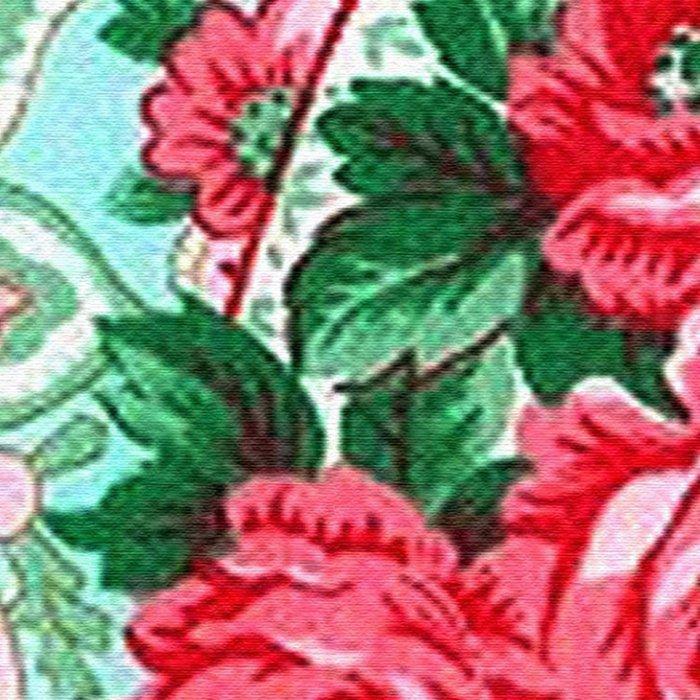 Floral Paisley Pattern 01 Leggings