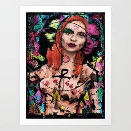 The Queen of All Gods  Art Print
