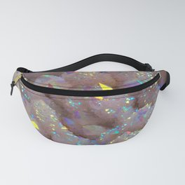 Angel Aura Spirit Quartz crystal Fanny Pack
