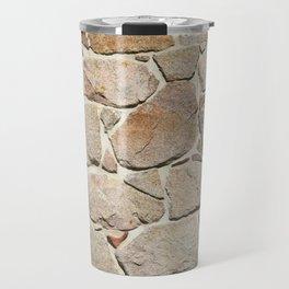 old quarry stone wall Travel Mug
