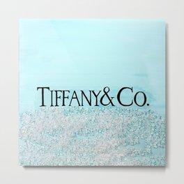 T - TIFFANY & CO Metal Print