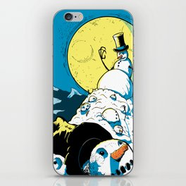 The Last One Standing iPhone Skin