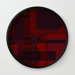 Patchwork 2 Wall Clock