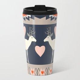 Romantic deer Travel Mug
