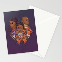 Wakanda Women Stationery Cards