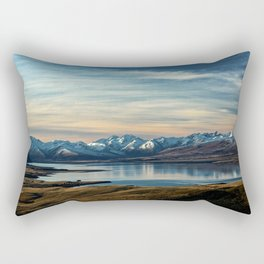 Over The Mountains Rectangular Pillow