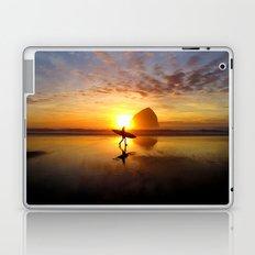 Surfer at Sunset Laptop & iPad Skin