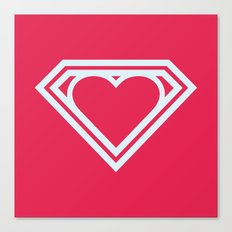 Superlove Canvas Print