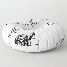 Trust in the Lord with All Your Heart Floor Pillow