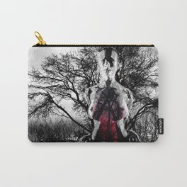 FEMALE NATURE - black Carry-All Pouch