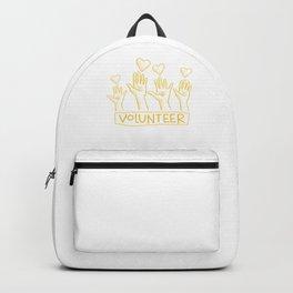 Volunteering Rescue Charity Volunteer Volunteers Gift Backpack