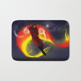 fire flight Bath Mat