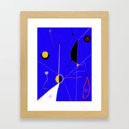 A JOAN MIRO YOU CAN ACTUALLY AFFORD (The Wound) Framed Art Print