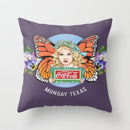 Munday Courier Throw Pillow