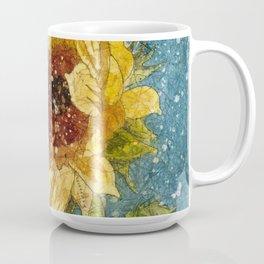 Sunflower Painting, Watercolor Sunflower, Sunflower Art,Sunflower Wall Art Coffee Mug