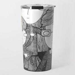 The Baudelaire orphans Travel Mug