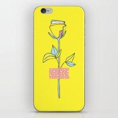 Rosewall (on yellow) iPhone & iPod Skin