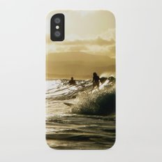 Surf Sunset Slim Case iPhone X