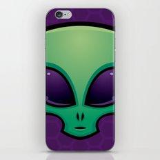 Alien Head Icon iPhone & iPod Skin