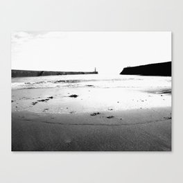 Harbour Beach Canvas Print
