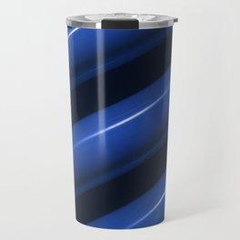 Heating pipes in blue closeup view Travel Mug