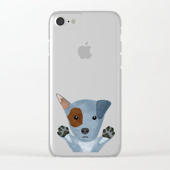 Original Dog Design Clear iPhone Case