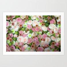 Strictly Flowers Art Print