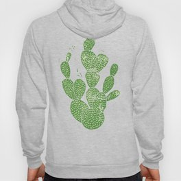 Linocut Cactus #1 Hoody