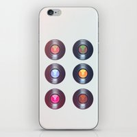 valar morghulis iPhone & iPod Skins featuring Vinyls by beatrice